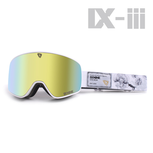 특가세일 IXNINE IX-3 Road Dog Grey Gold Lens