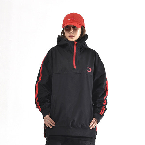 도넥 방수후드 아노락 DONEK ANORAK WATER PROOF HOODY BLACK