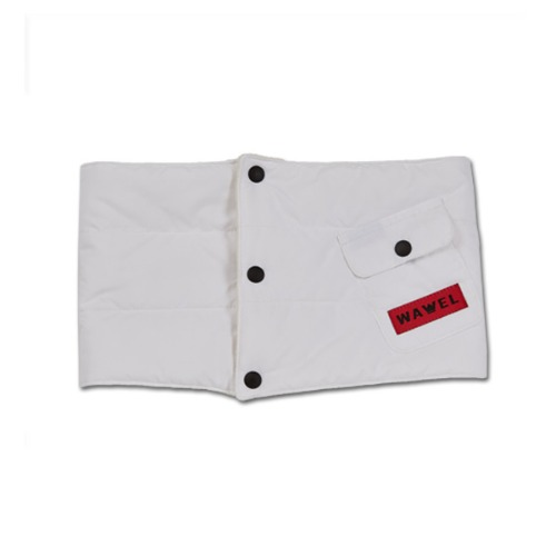 바벨 넥워머1920 WAWEL PADDING NECK WARMER WHITE
